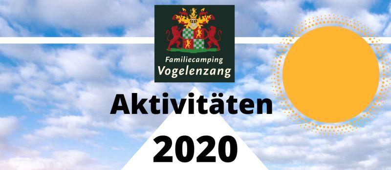 Neuer Aktivitätskalender für 2020 angekündigt